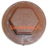 Capac plastic pt. cap hexagonal